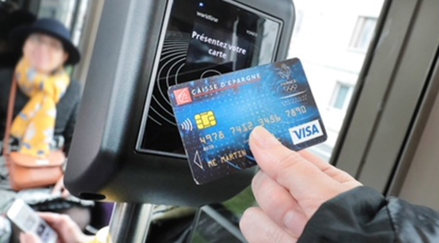 A first in France: the contactless payment card becomes a ticket in Dijon's trams