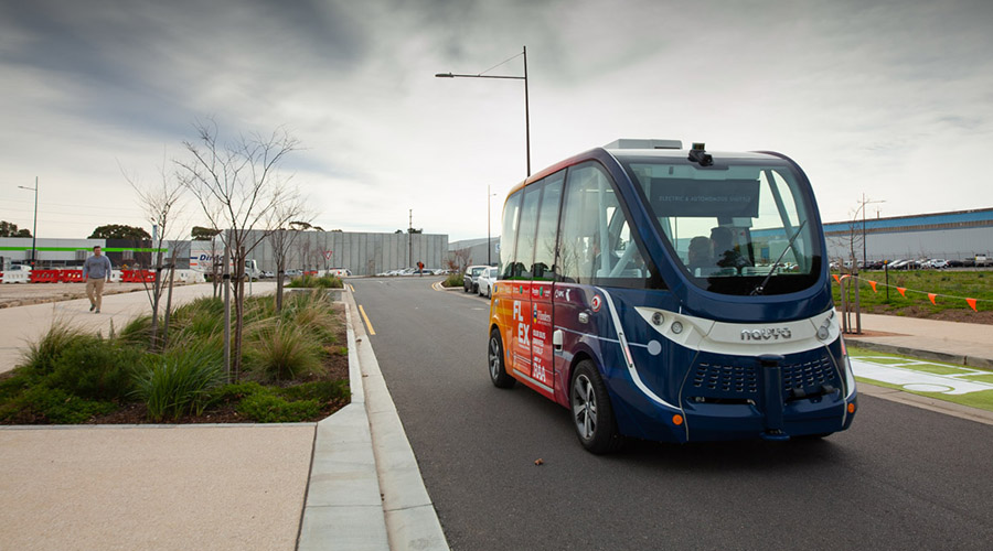 SA's first driverless shuttle launched on public roads