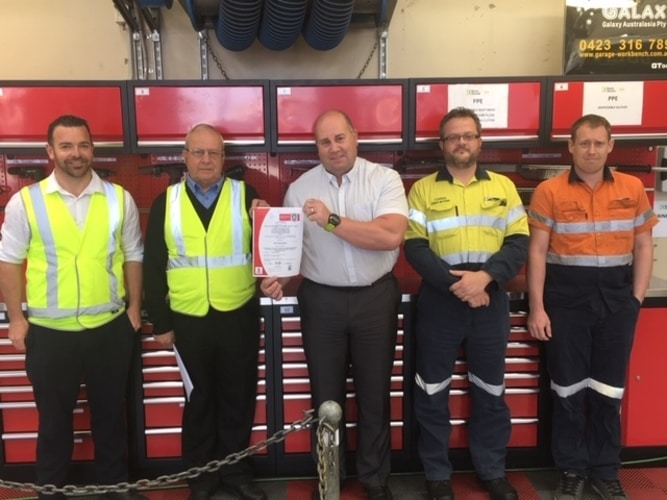 Keolis Downer, the first bus company in Australia with ISO 55001 certification