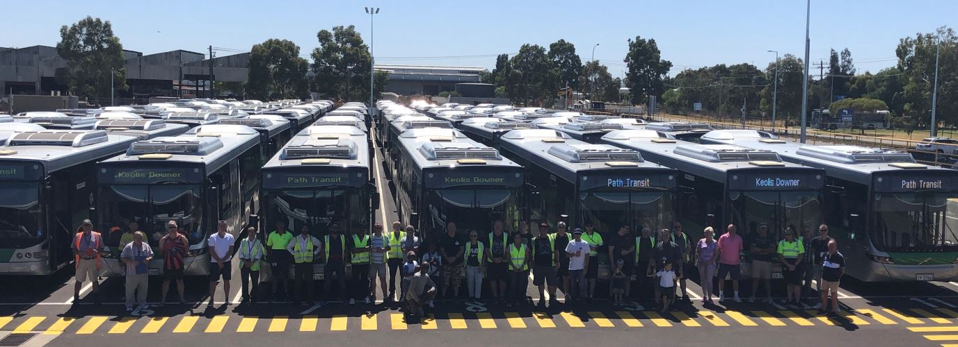 Inauguration of the new Redcliffe depot, WA