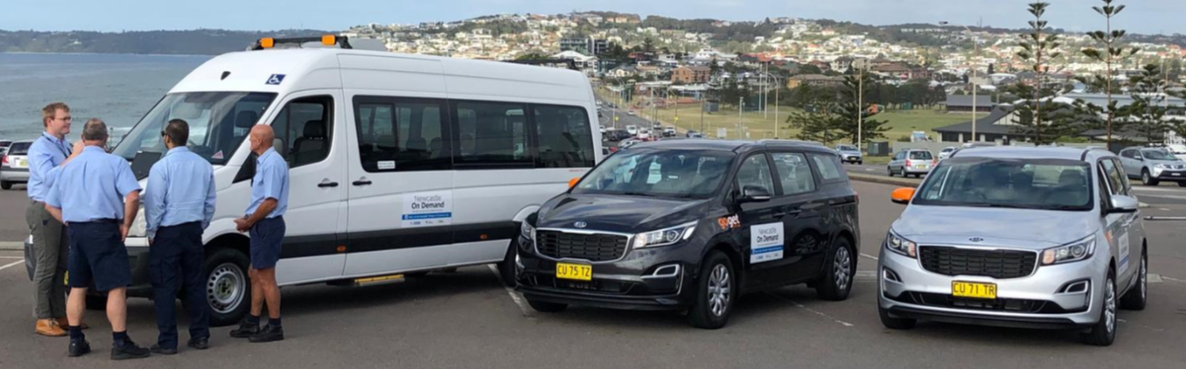 A new On Demand transport service starts in Newcastle providing more mobility choices to local communities