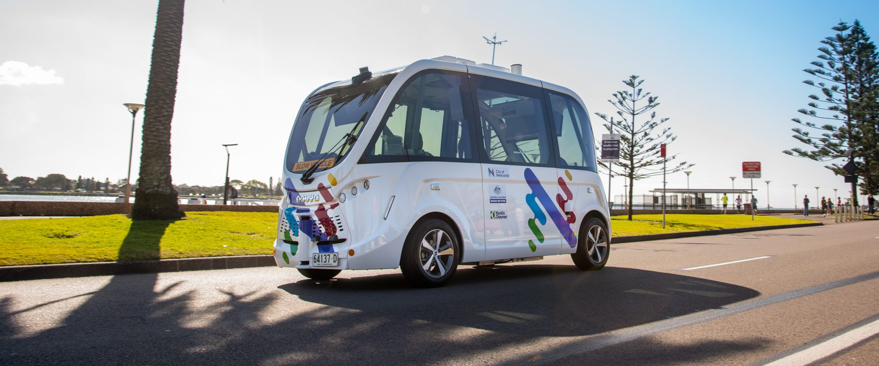 A new mobility option for Newcastle: New Driverless Shuttle starts operating
