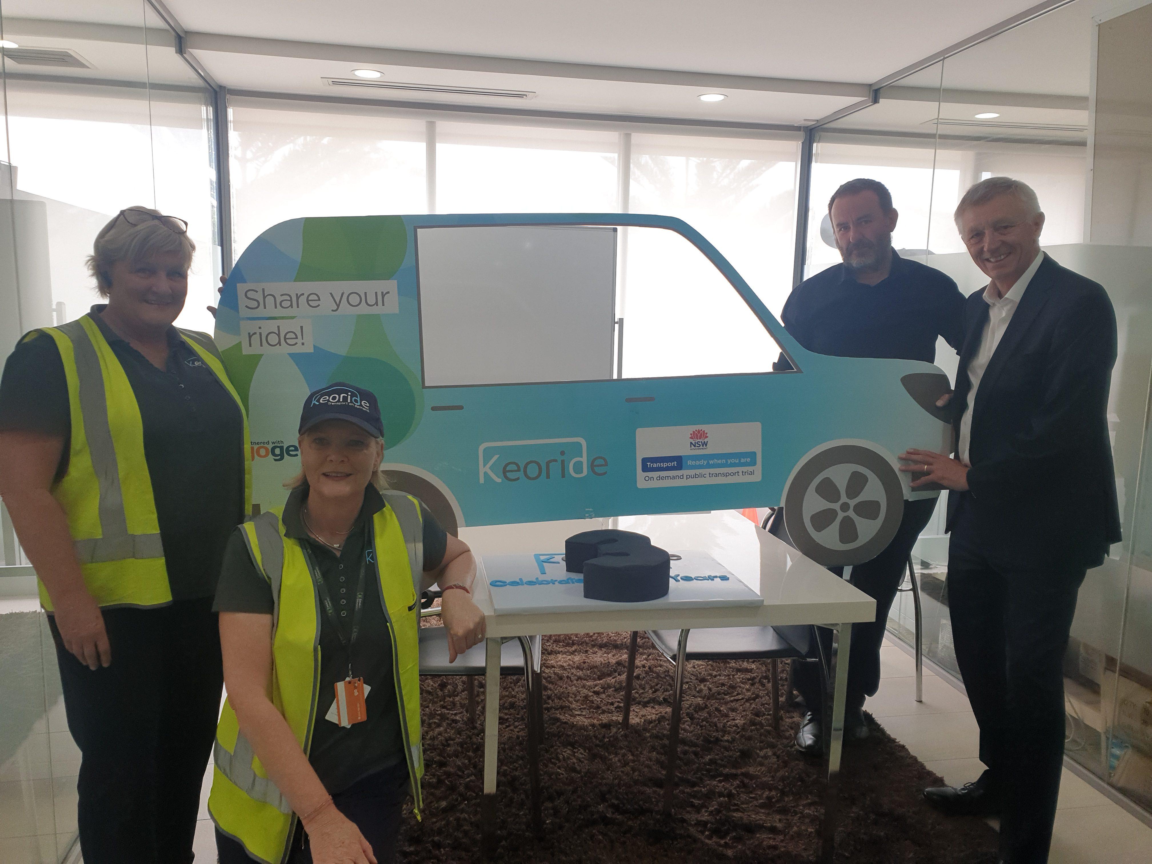 The Northern Beaches On Demand transport service Keoride reaches 3 year milestone