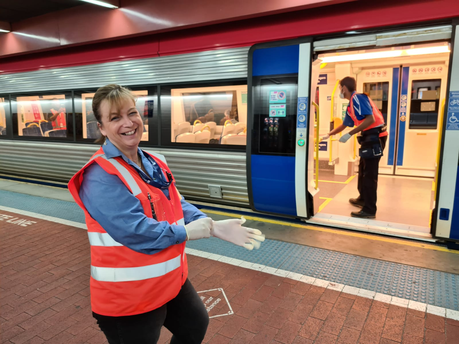 Extra cleaning on trains improves the passenger experience for  travellers in Adelaide