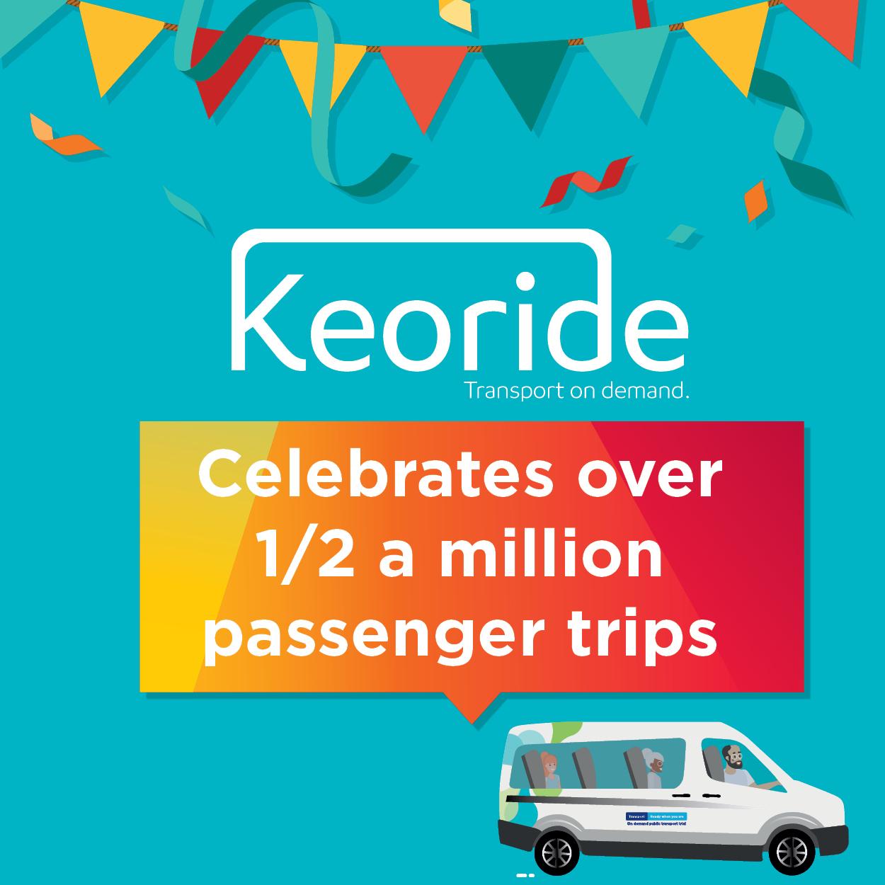 Keoride On Demand Northern Beaches clocks over half a million passenger trips
